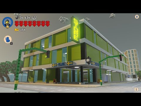 "LEGO Worlds - New department store  ""Swedish "" in my wonderful LEGO City"