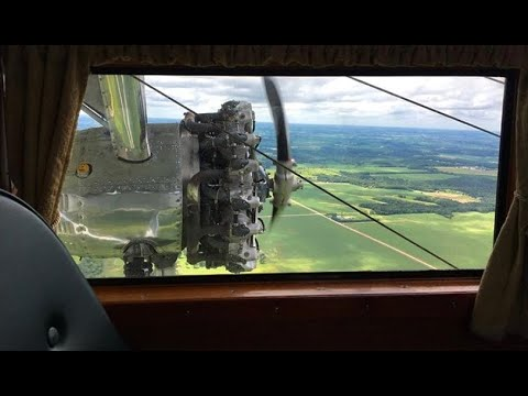 (HD) Flying on a 1928 Ford Tri-Motor - Full Flight at Rochester International Airport KRST/RST