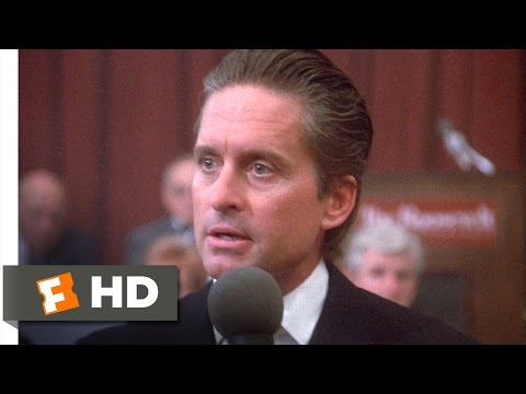 Wall Street (3/5) Movie CLIP - A Second-Rate Power (1987) HD