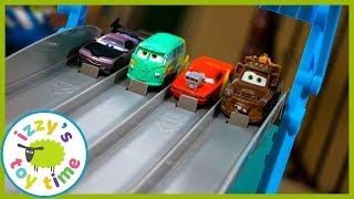 Cars for Kids! Disney Pixar Cars Florida Speedway Race!