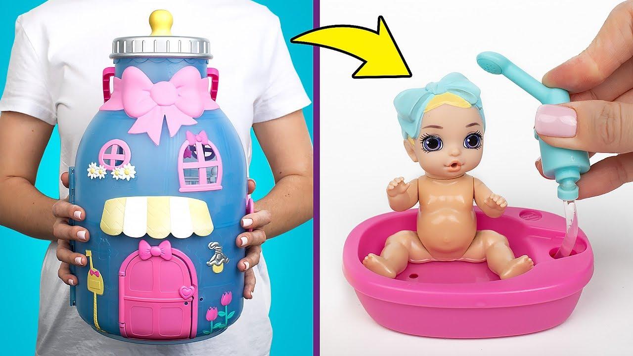 Auspacken Von Baby Born Surprise Das Baby Flaschenhaus Spielset Youtube