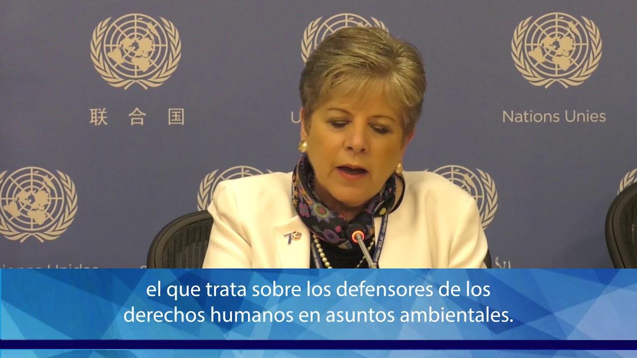 Argentina ratificó el Acuerdo de Escazú