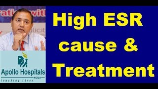 Causes of high Esr in Hindi Reasons its Significance Infection Arthritis Treatment Options Cure