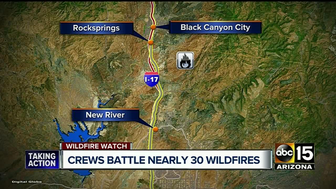 Arizona cochise county cochise - Lizard Fire Continues To Burn In Cochise County Abc15 Arizona