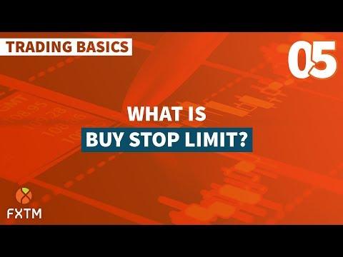 05 Buy Stop Limit - FXTM Trading Basics