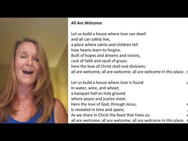 BUILD A HOUSE Hymn, Jennifer Seaman SING ALONG!