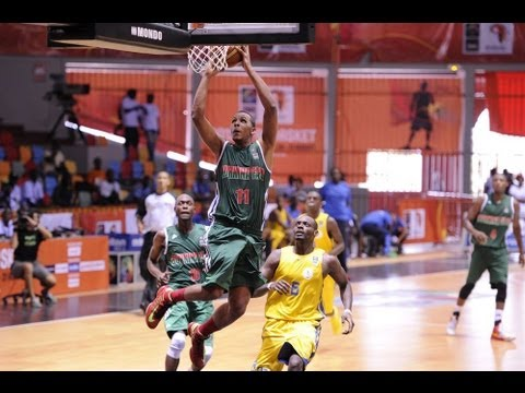 #AfroBasket - Day 2: Rwanda v Burkina Faso (highlights)