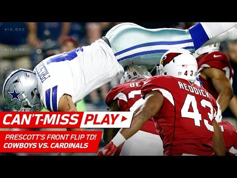 Dak Prescott Front Flips His Way to a Spectacular TD!😱 | Can't-Miss Play | NFL Wk 3 Highlights
