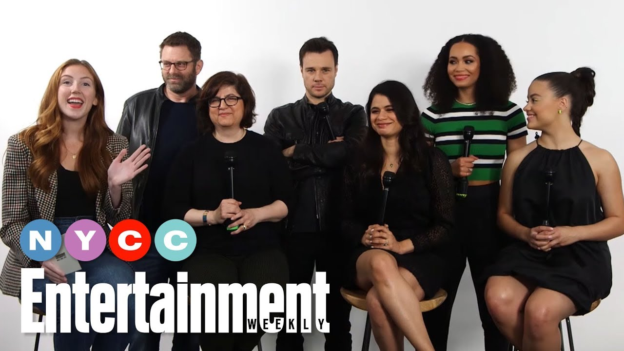 Download Charmed's Sarah Jeffrey, Melonie Diaz & More On New Show's Season | #NYCC19 | Entertainment Weekly