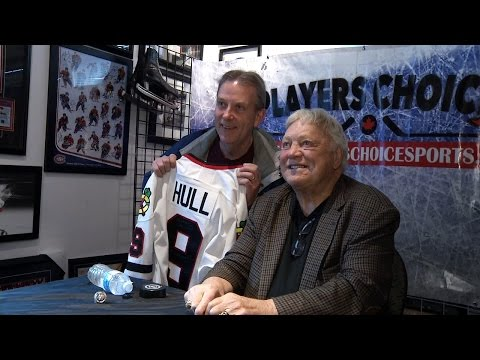 Bobby Hull in Kelowna - YouTube