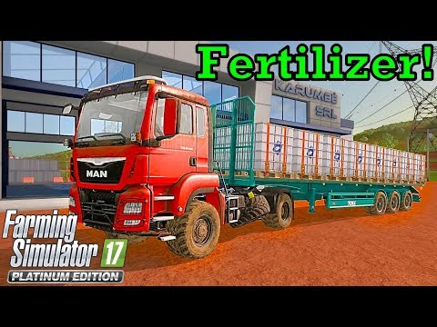 Let's Play FS17, Estancia Lapacho #43: Fertilizer!