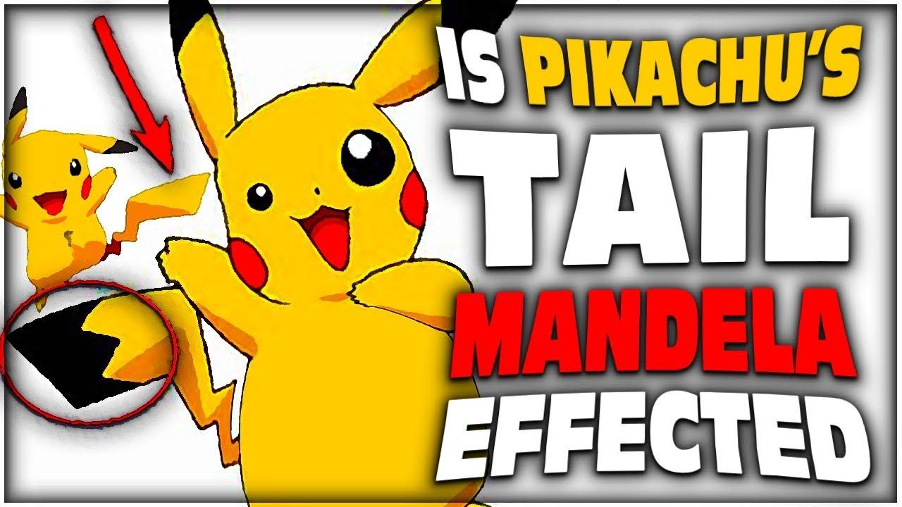 PIKACHU BLACK TAIL MANDELA EFFECT (EXPLAINED WITH EVIDENCE ...