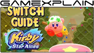 Kirby Star Allies - All Secret Switch Locations (Unlockable Levels Guide)