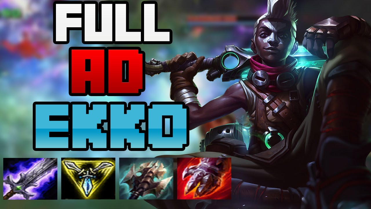 Full Ekko With Build Baron Cxeowqerdb Ad Steal ulF3T15JcK