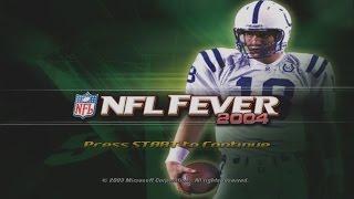 NFL FEVER 2004 gameplay