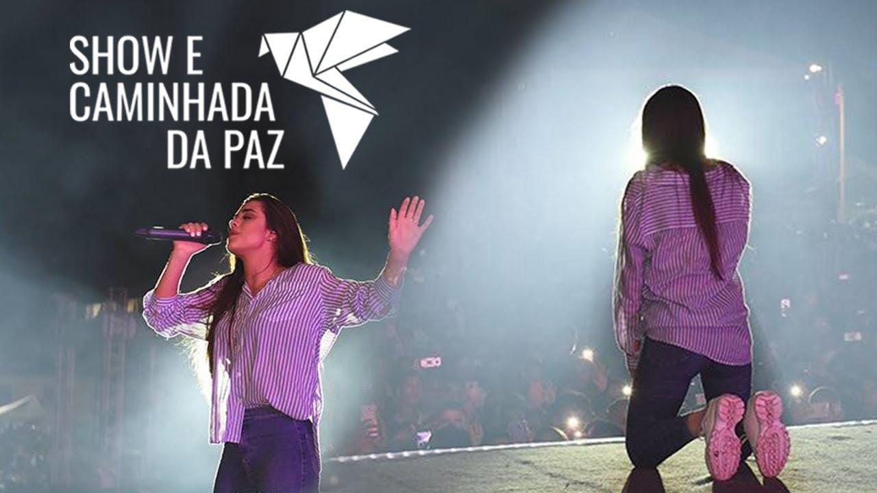 Isadora Pompeo - Show e caminhada da paz 2018