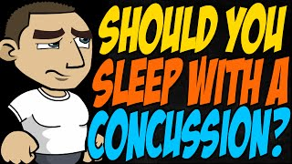 Should You Sleep With a Concussion?