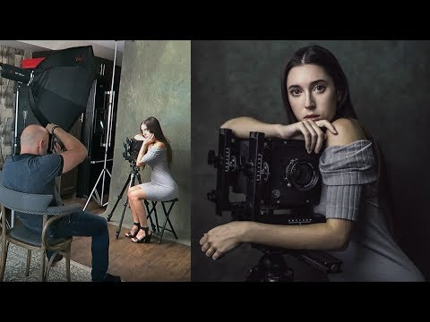 I Get My Picture Taken, One Light Studio Set-Up Using LED