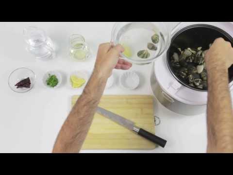 Robot de cocina chef titanium almejas al ajillo youtube for Robot de cocina chef titanium