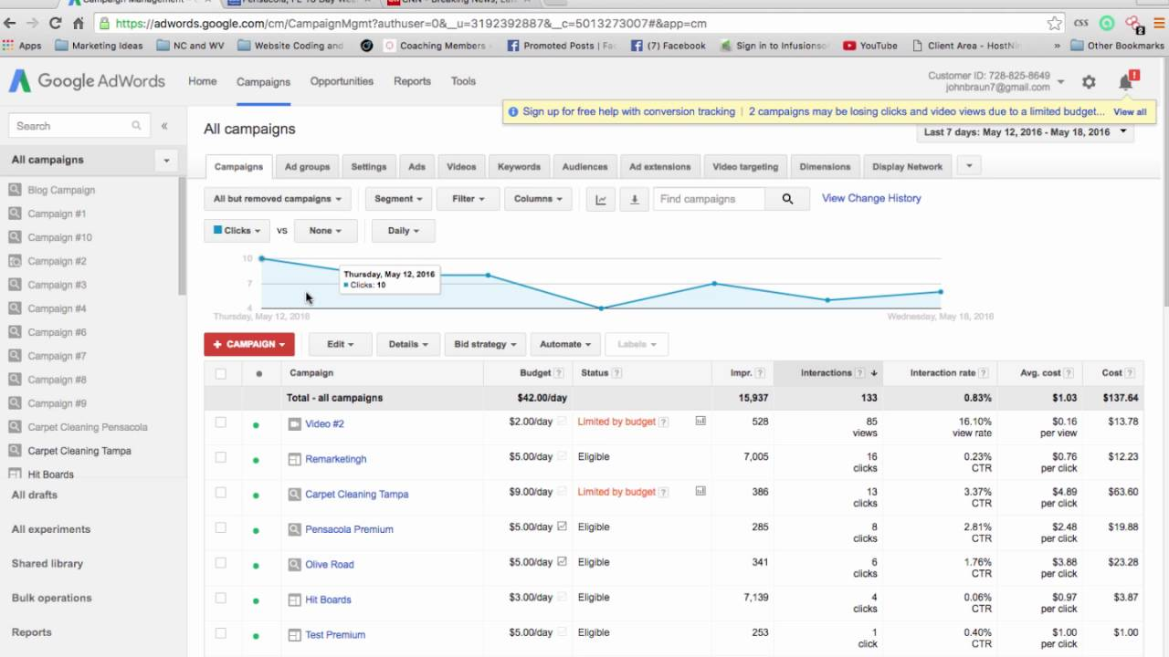 Set up a Remarketing Campaign on Google Adwords