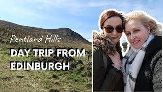 Hiking in the SCOTTISH LOWLANDS (Pentland Hills) with Kakibot   Merete