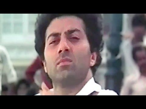 Pakad Pakad Khinch Ke - Ravi Behl, Sunny Deol, Dimple, Narsimha Song