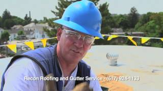 recon roofing rubber roof coating of boston gaco western silicone roof repair
