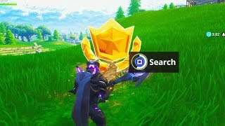 Search Between a Bear, Crater and a Refrigerator Shipment - Fortnite Battle Royale Week 8 Challenges
