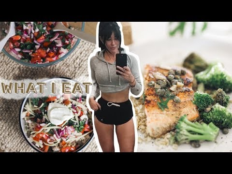 WHAT I EAT // 4 Fast, Easy, & Healthy Dinner Ideas