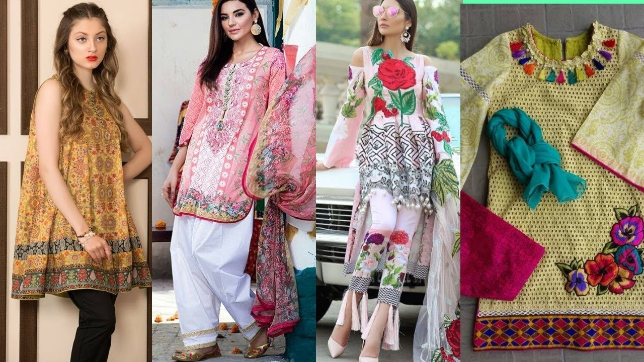 9a8d563cc0 New Collection Designer Lawn Dresses 2018-19 / Branded Lawn Outfit For Eid  2018 || fashion designer