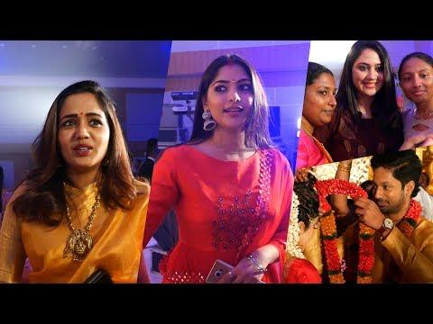 Repeat Muktha , Ananya , Mia Spotted At Rajith Menon Wedding