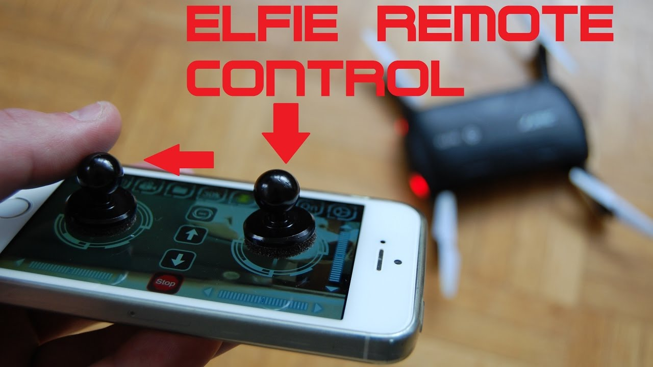 JOYSTICK IT REVIEW TRICK TURN VIRTUAL TO REAL REMOTE CONTROL JJRC H37 ELFIE FOLDABLE MINI DRONE