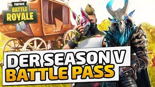 Battle Pass Season 5 - ♠ Informationsvideo ♠ - Deutsch German - Dhalucard