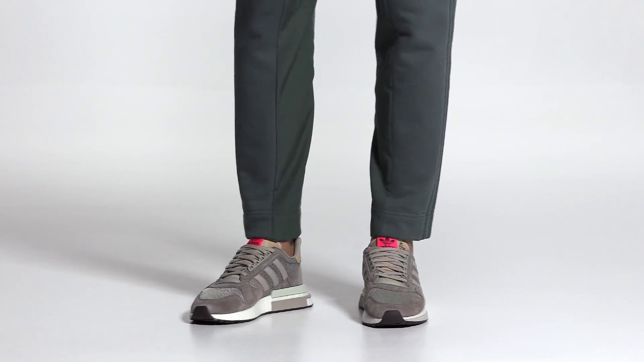 f70ac284f8 Adidas ZX 500 RM Shoes/Brown/Adidas US || Original shoes || Official Video