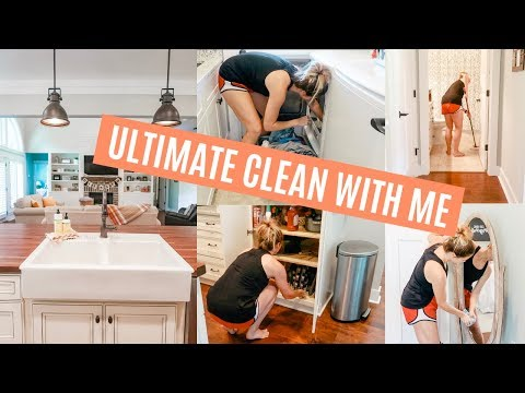 ULTIMATE CLEAN WITH ME 2019 // EXTREME CLEANING MOTIVATION!! // Amy Darley