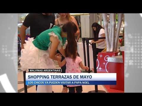 Malvinas Argentinas Shopping Terrazas De Mayo Los Chicos Ya Pueden Visitar A Papá Noel