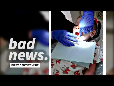 DENTIST GIVES US BAD NEWS! *first dentist visit*