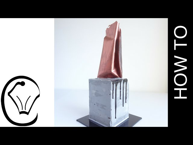e98df07e035 Buttercream Industrial Concrete Render Cake with Metallic Chocolate Sail by Cupcake  Savvy s Kitchen Download video - get video youtube