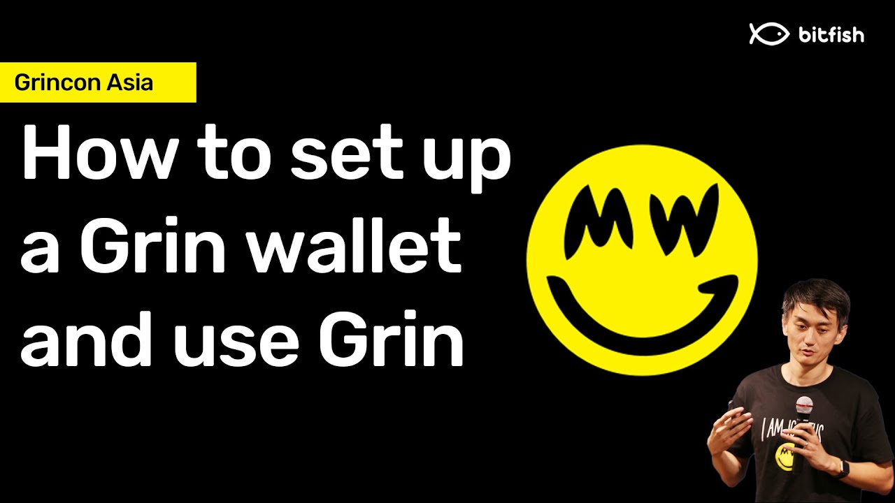 How to set up a Grin wallet and use Grin 🙂