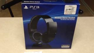 PS3 Wireless Stereo Headset Review