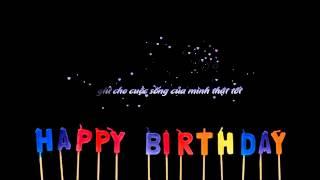 [Aegisub Effect] Happy Birthday To Me