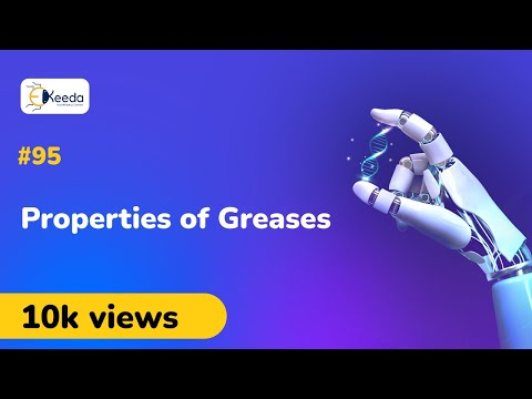 Properties Of Greases - Lubricants - Applied Chemistry I