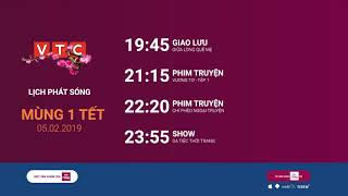 Lịch phát sóng các chương trình Tết Kỷ Hợi 2019 trên VTC
