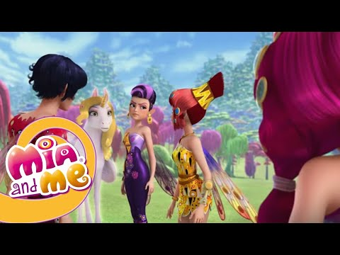 Мия и Я - 2 сезон - 23-25 серия - Mia and me   Мультики для детей про эльфов, единорогов HD