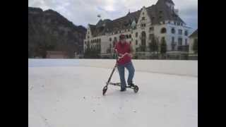 Trikke Skki Hands on Training Synthetic Ice