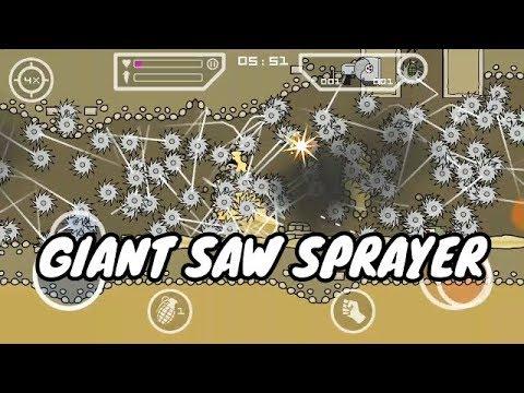 Mini militia Giant saw death sprayer