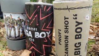 Polenböller - MegaBoy vs LittleJoe vs BigBoy