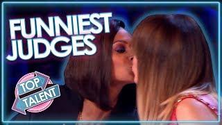 Funniest Judge Moments On Britain's Got Talent!   Top Talent