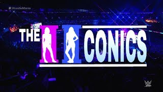 The IIconics Win the WWE Womens Tag Team Championship at Wrestlemania