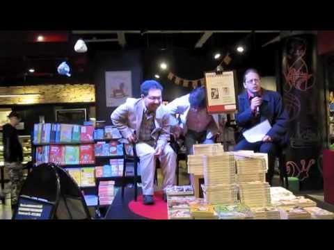 Yoshihiro Takahashi in Helsinki book stores